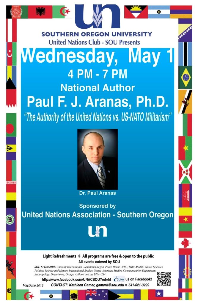 Paul Aranas Poster SOU